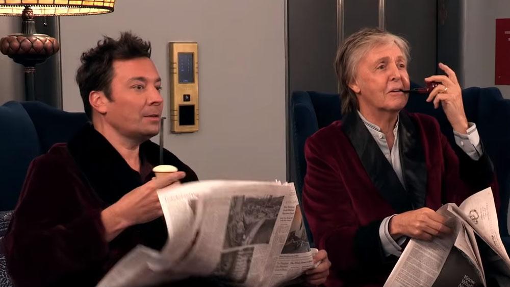 Paul McCartney y Jimmy Fallon