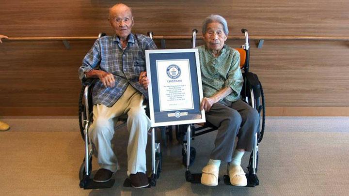 Ancianos en Japón