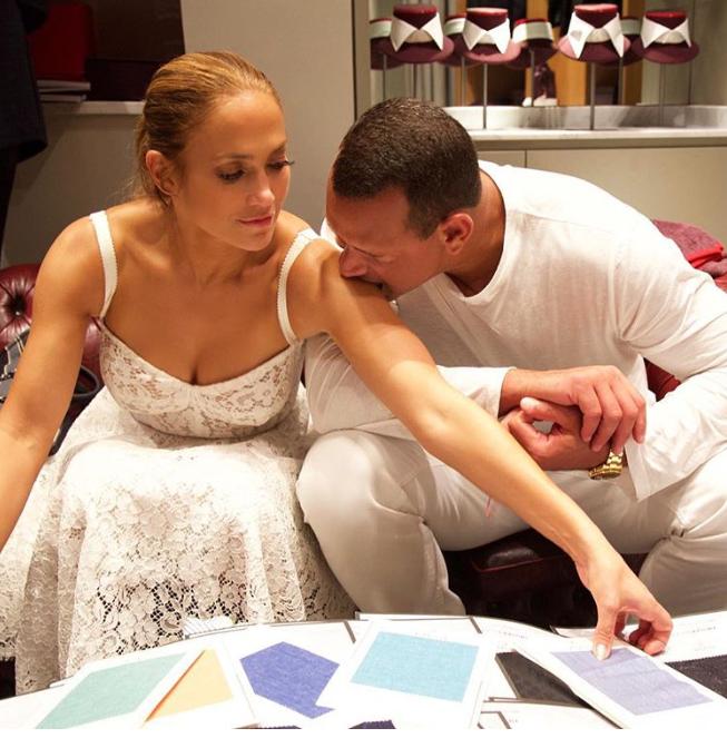 Jennifer Lopez y Alex Rodriguez