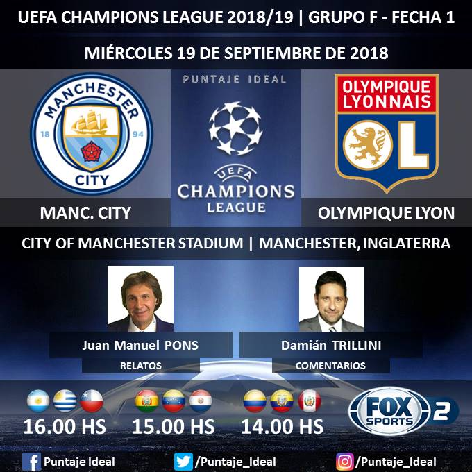 Manchester City vs. Lyon