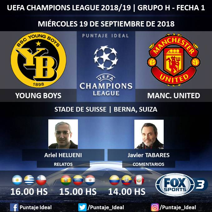 Manchester United vs. Young Boys