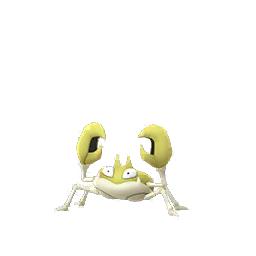 pokemon krabby shiny