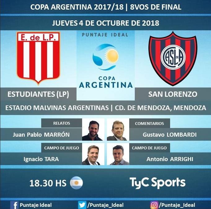 Estudiantes vs San Lorenzo