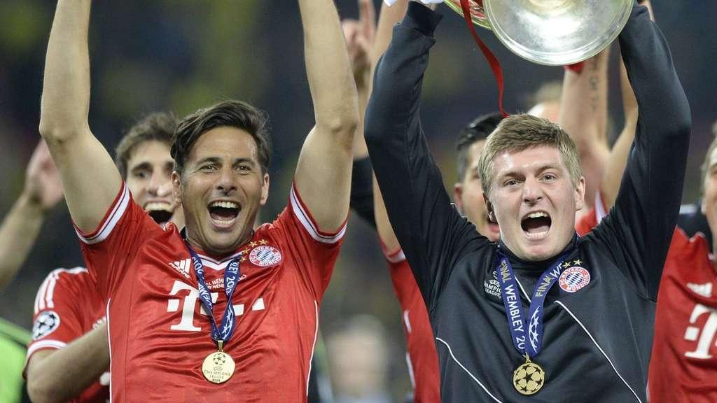 Pizarro y Kroos