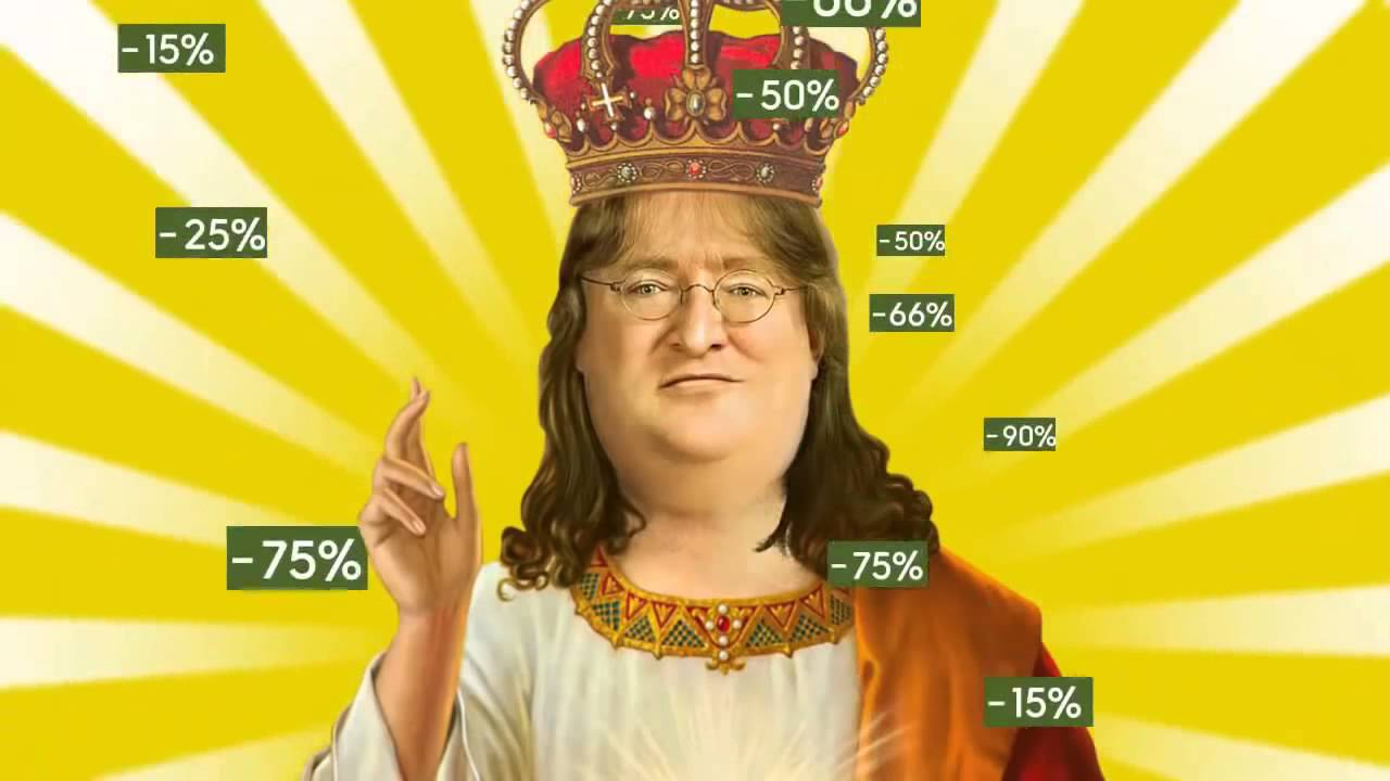Steam Lord Gaben Newell