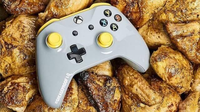 Xbox PUBG winner winner chicken dinner mando