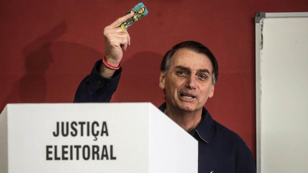 jair bolsonaro vota