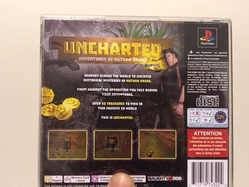 Uncharted 98DEMAKE