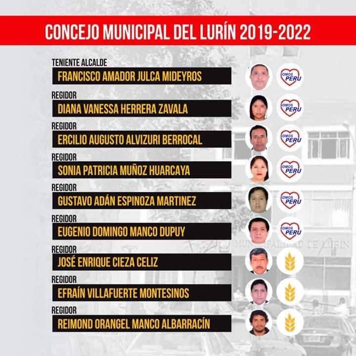 Reimond Manco es elegido regidor de Lurín