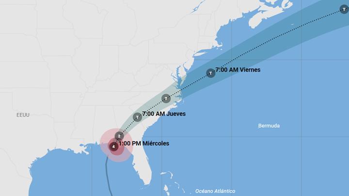 trayectoria-huracan-michael
