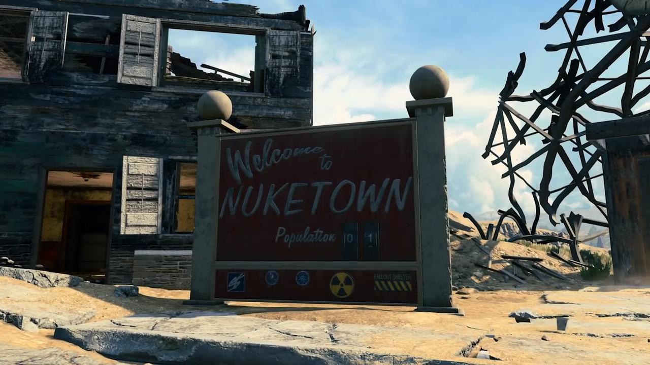 Black ops 4 Nuketown
