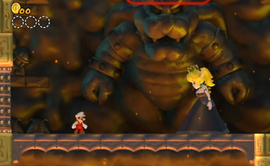 Bowsette New Super Mario Bros Wii mod