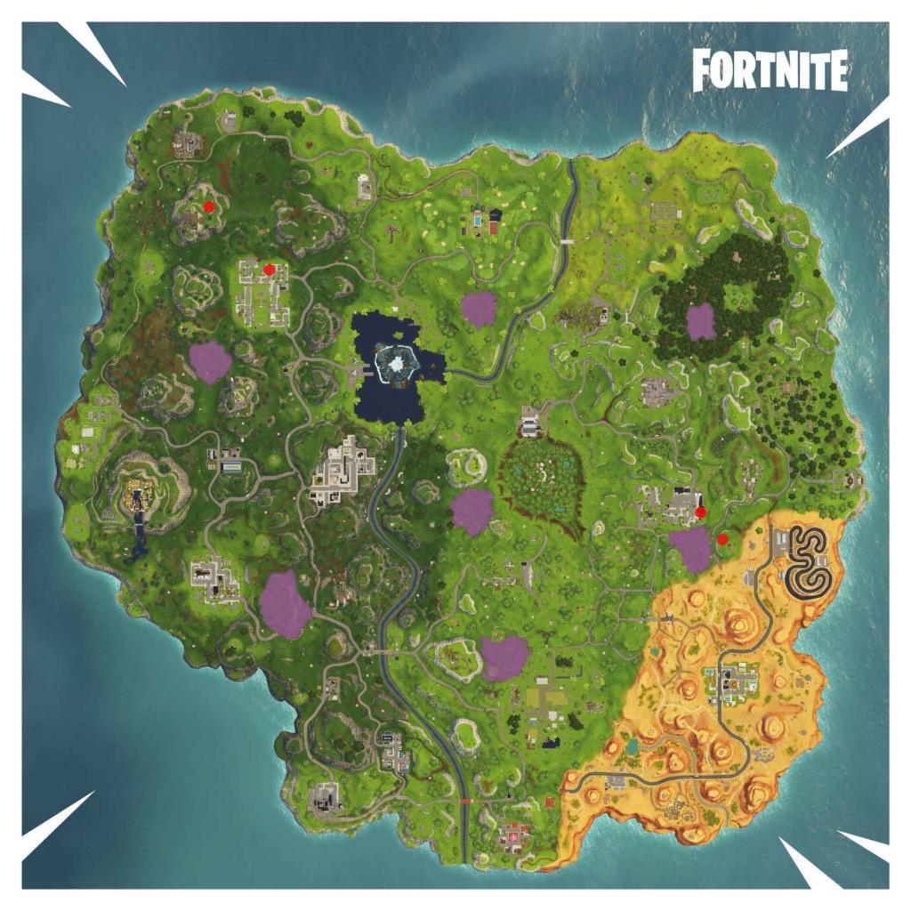 Fortnite partituras mapa