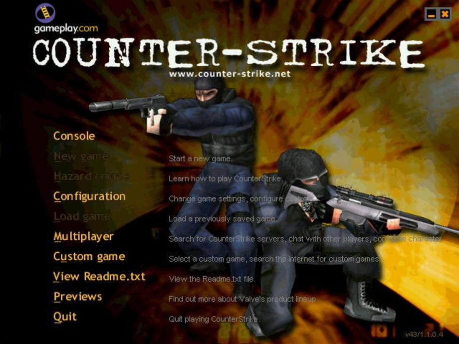 Counter Strike beta