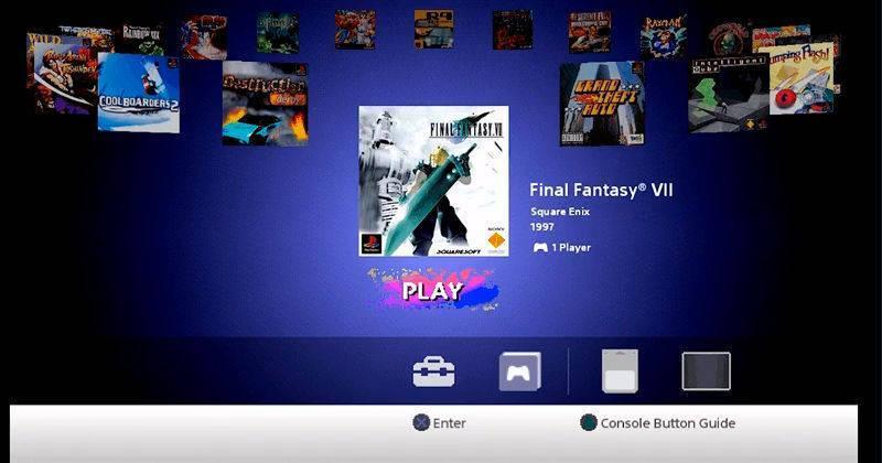 PlayStation Classic usa emulador gratuito