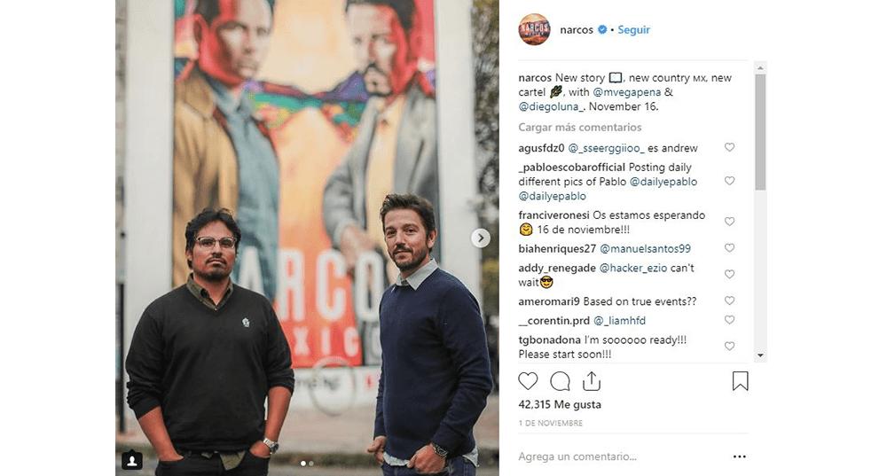 'Narcos: México' se estrenará el próximo 16 de noviembre.