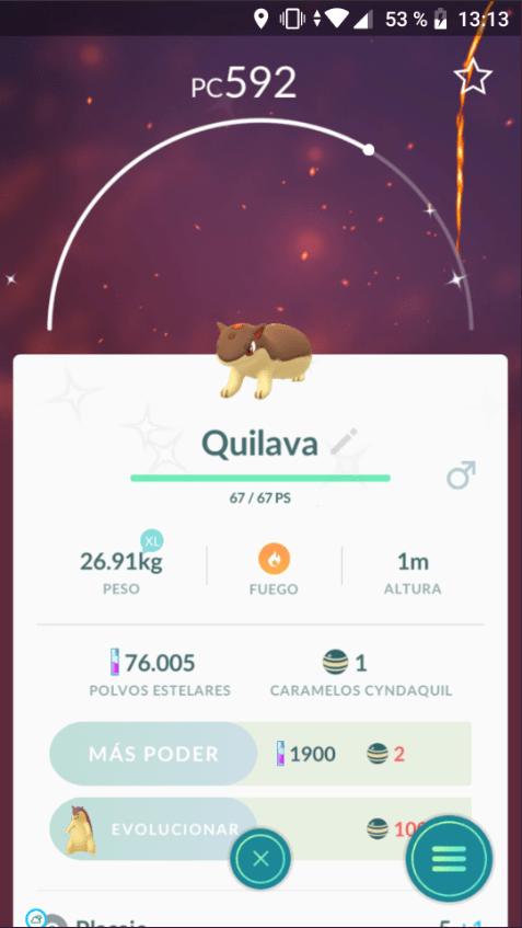quilava shiny pokemon go