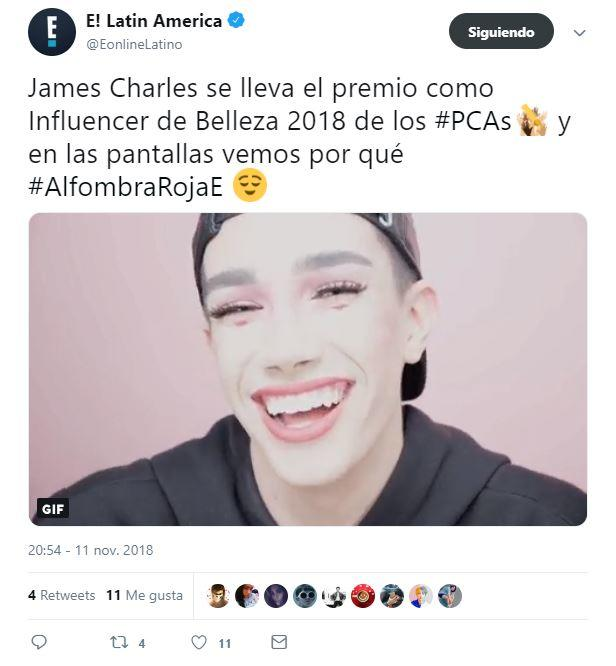 People´s Choice - James Charles