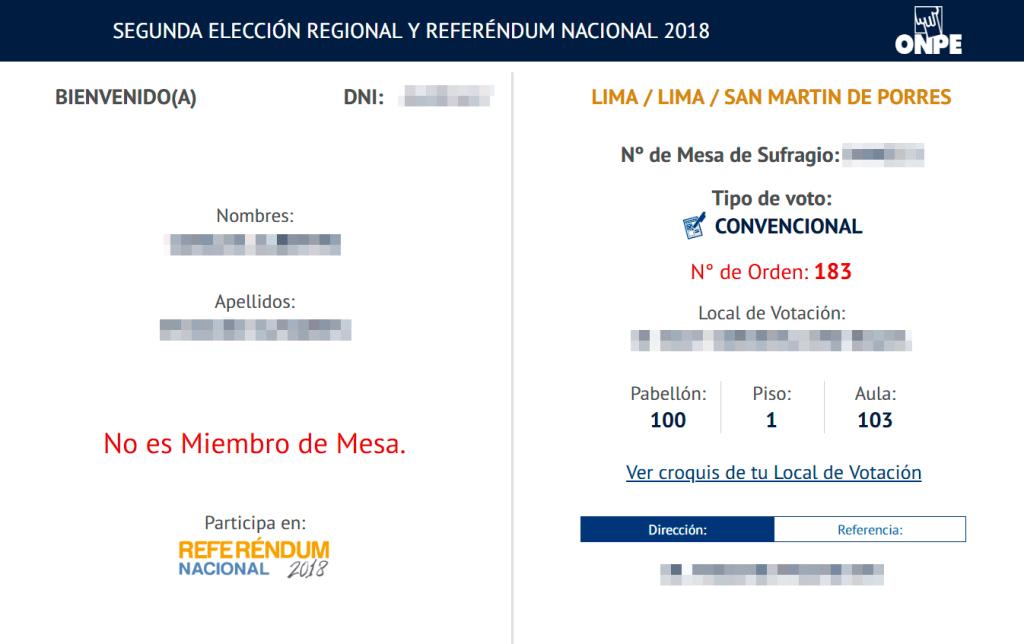Referéndum 2018