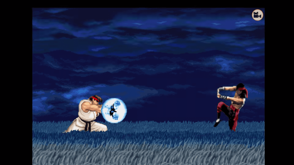 Street Fighter fatality