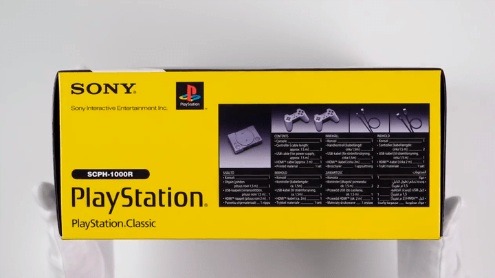 PlayStation Classic TheRelaxingEnd unboxing