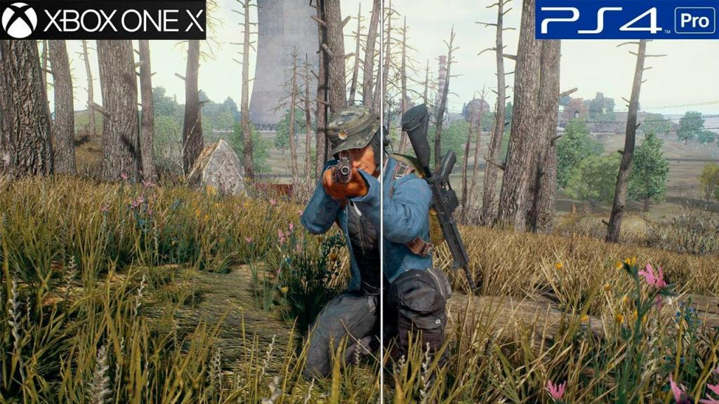 PUBG: PS4 Pro vs Xbox One X