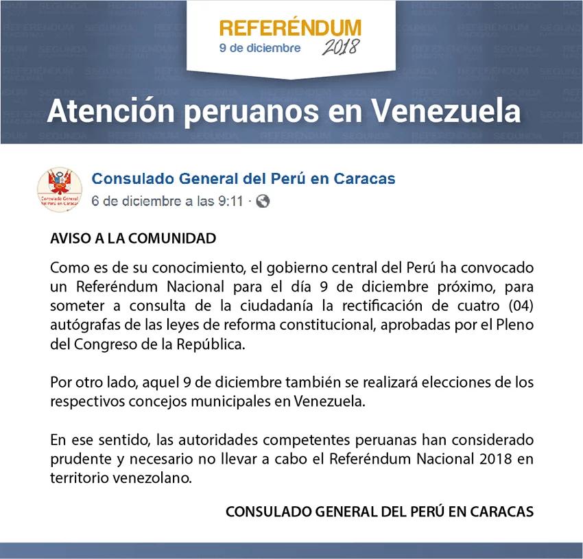 Referéndum 2018, Venezuela.