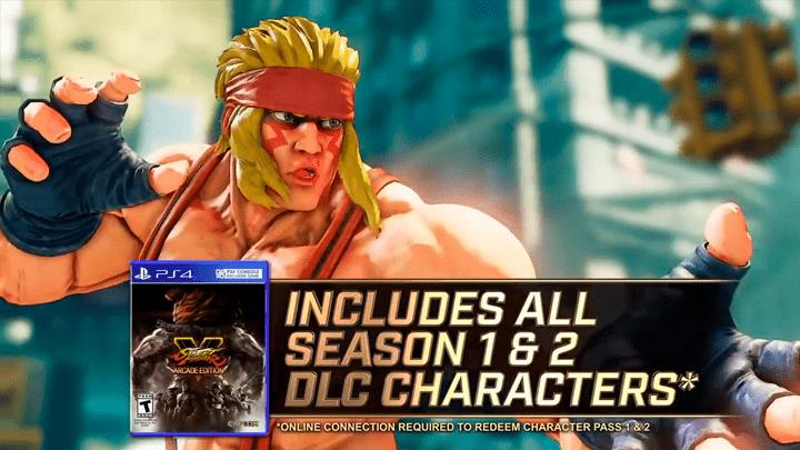 Street Fighter V publicidad dentro del juego ads ingame