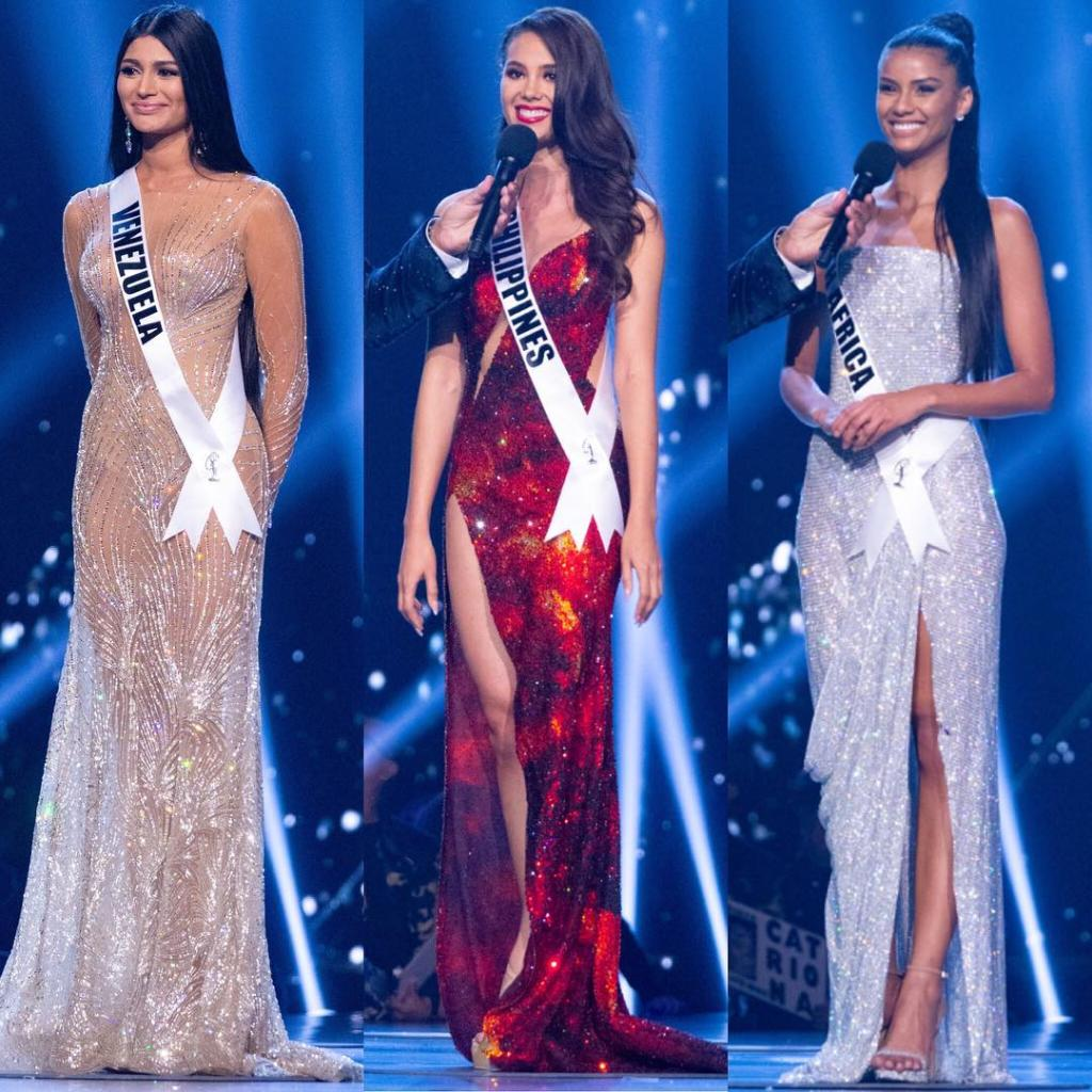6e8453e35 Catriona Gray Miss Filipinas gana el Miss Universo 2018 en Bangkok ...