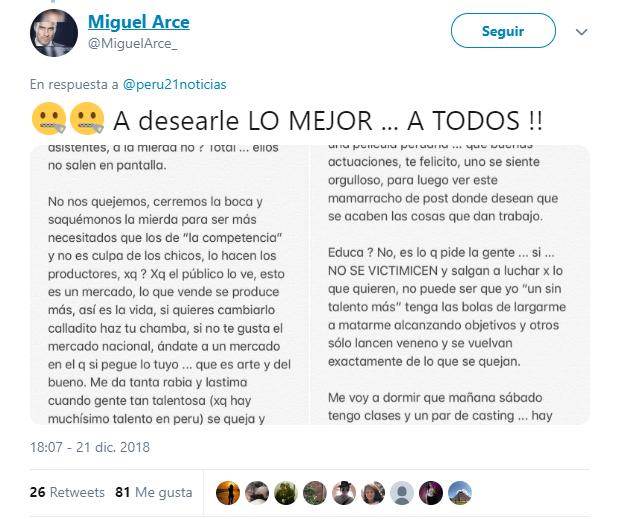 Miguel Arce