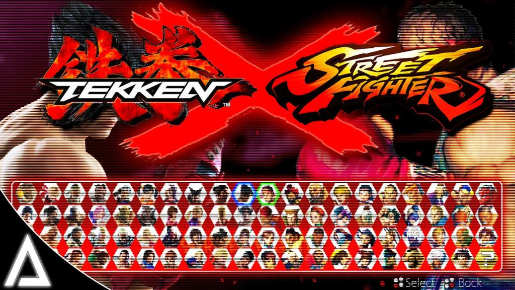 Tekken X Street Fighter concepto