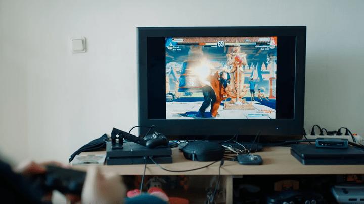 Blind Warrior Sven Street Fighter