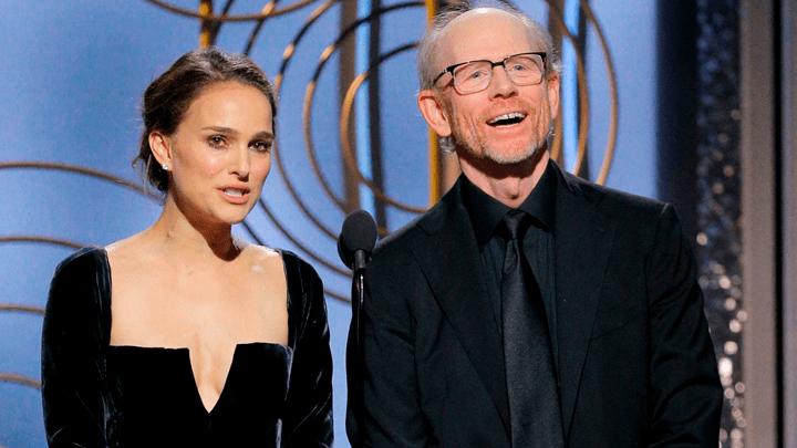 Natalie Portman Globos de Oro 2019