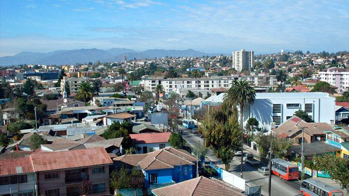 Ciudad de Quilpué en Chile