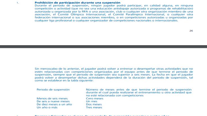 Paolo Guerrero suspensión