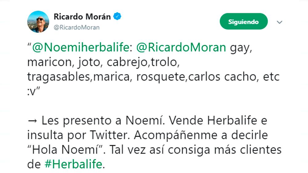 Ricardo Morán