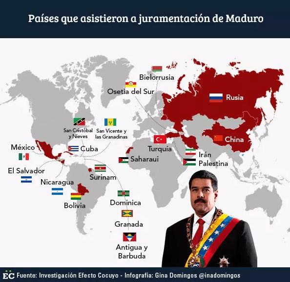 Investidura de Nicolás Maduro