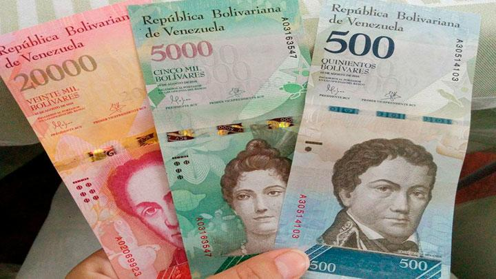 Tipo de cambio de bolívares soberanos a dolar