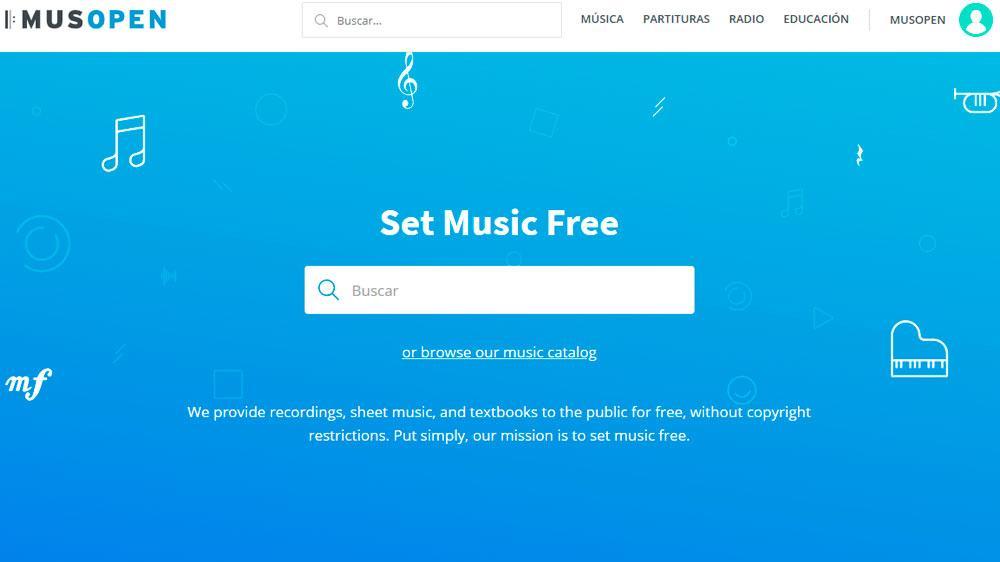 Musopen Páginas para Descargar Música