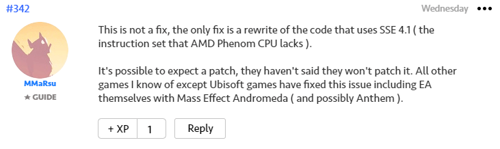 AMD Phenom Apex Legends