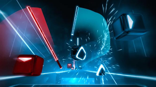 Beat Saber en Steam VR