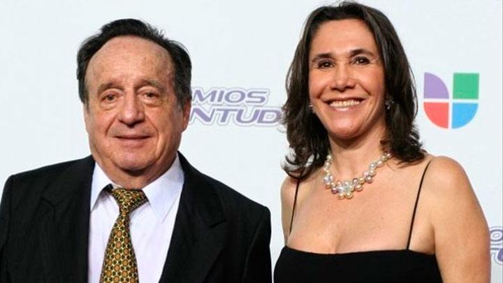 Florinda Meza y Roberto Gomez Bolaños