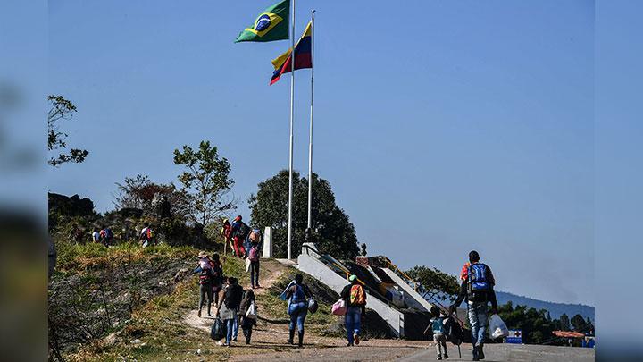 brasil venezuela frontera