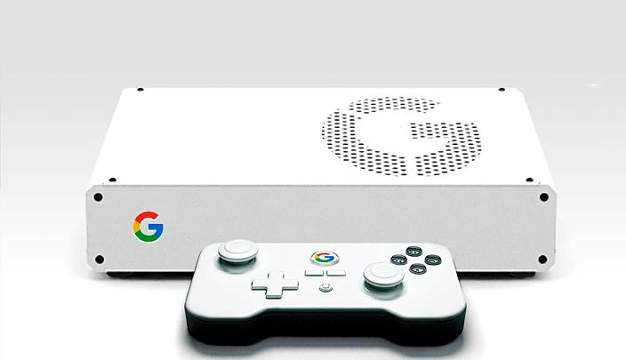 Google consola concepto