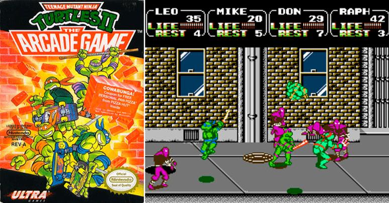 Teenage Mutant Ninja Turtles: Arcade Game
