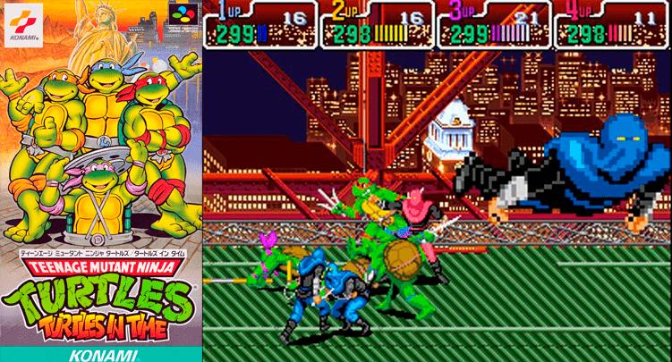Teenage Mutant Ninja Turles: Turtles in Time