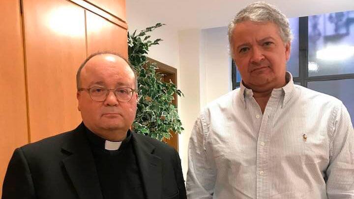 Pedro Salinas y Charles Scicluna