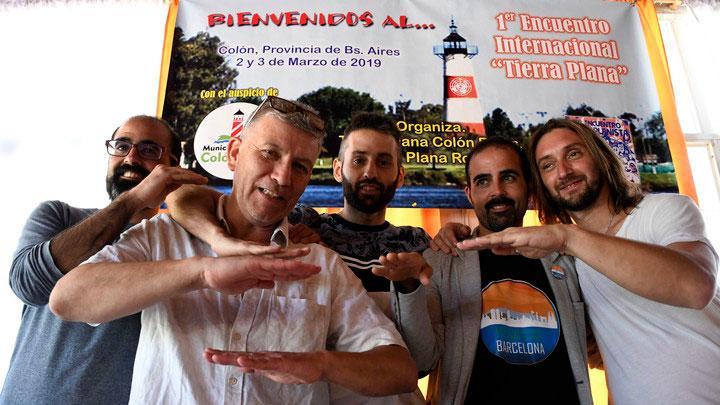 Terraplanistas en Argentina