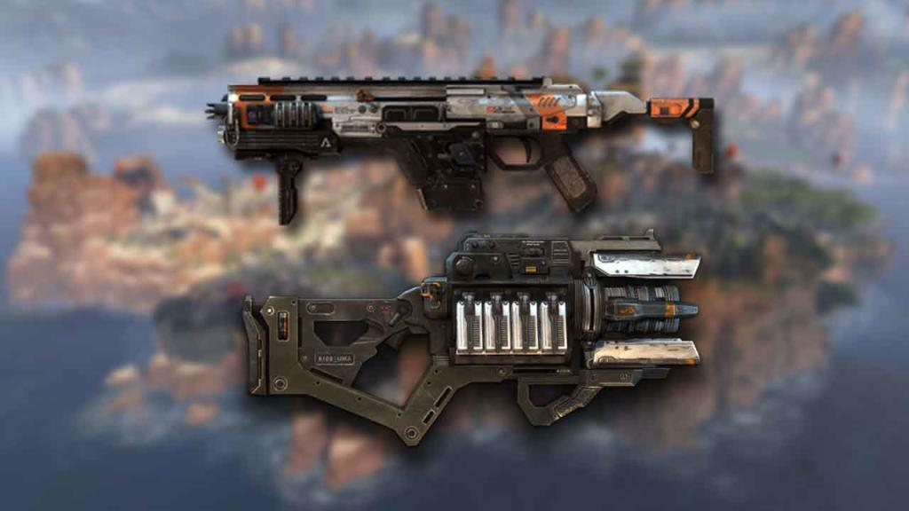 CAR SMG y Proto Hold Beam Apex Legends