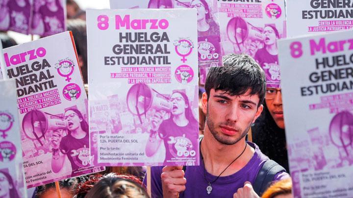 Ocho de Marzo en España